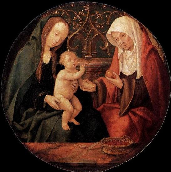 Willem Cornelisz. Duyster Virgin and Child with St Anne